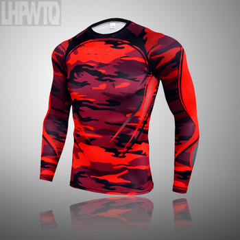 3-piece sets Compression Suits Men's Quick Dry set Clothes Sport Running MMA jogging Gym work out Fitness Tracksuit clothing 12