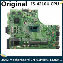 Laptop Motherboard DDR3L DELL for 15/3542 Cn-01p4hg/01p4hg/1p4hg/.. with I5-4210u LSC