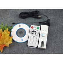 NOVA DVB-T2 DVB-C USB Digital DVB-T HDTV TV FM DAB SDR Receptor Dongle Adaptador Branco # S0178(China)
