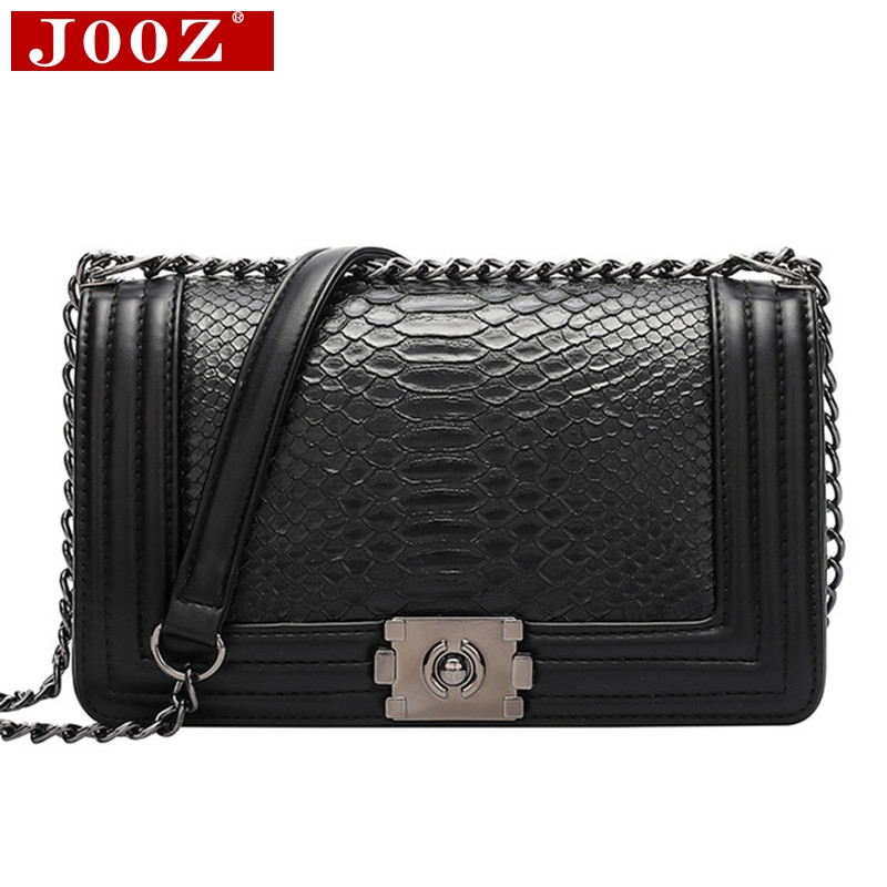Luxury Brand Women Bag Snake Crossbody Bag For Women Leather Handbags Designer Purse Female Single Shoulder Bag Sac A Main