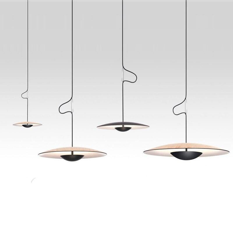 Marset Design Ginger Pendant Lamp Modern Hanglamp Kitchen Island Dinning Room Drop Light Nordic Loft Industrial Decor Luminaire