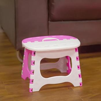 Multifunction Children Kid Safety Folding Stool Outdoor Activity Home Traveling House Supplies Furniture Dot Chair fold up stool