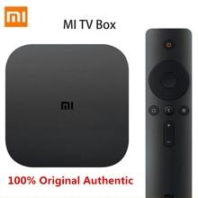 Original Xiaomi MI TV Box Set White 4 Black 4C 4K TV Cortex-A53 Quad Core 64bit 1G+8G DTS-HD 2,4 GHz WiFi USB 2,0 Set-top