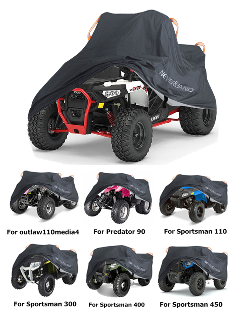 Atv-Cover-Case Quad-Bike Rain-Proof Polaris 190T Dust for M XL XXXL D20 Anti-Uv Beach