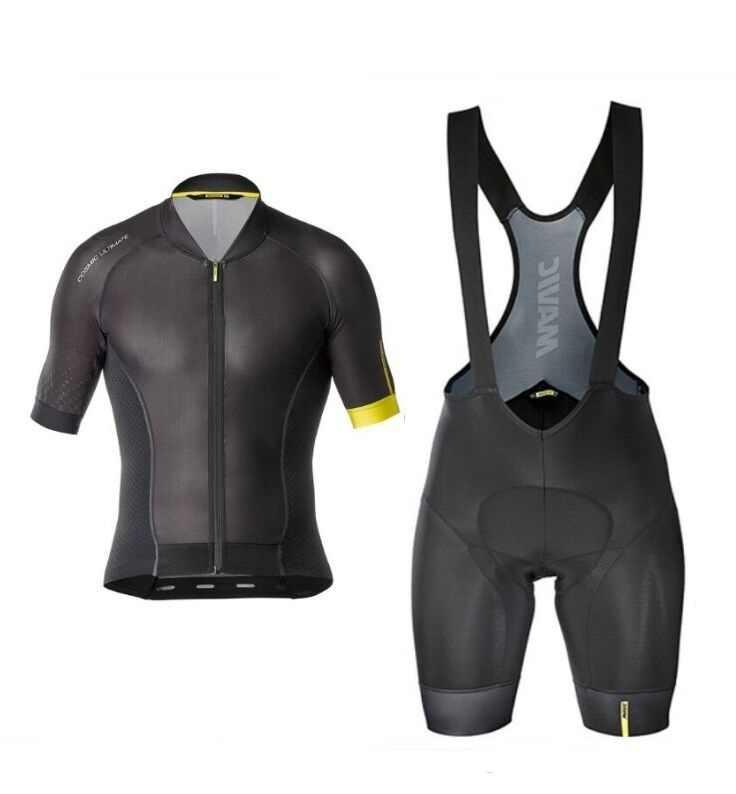 Novo 2019 mavic camisa de ciclismo alta qualidade manga curta ciclismo corrida kit shorts da equipe conjunto