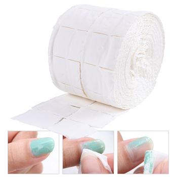 500 sztuk miękkie chusteczki bawełniane do paznokci żel zmywacz do paznokci Lint Free papierowa podkładka Soak Off serwetki Wrap Cleaner Manicure narzędzie jak z salonu TR918 tanie i dobre opinie CN (pochodzenie) Do usuwania makijażu