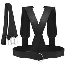 Speed Training Harness Vest Universal Adjustable Shoulder Strap Band Rope Cord Kit Trainer Resistance Practice Outdoor Accessory
