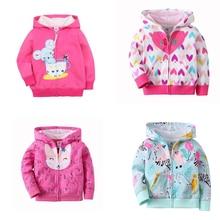 Baby Jacket Hooded-Coat Infant Baby-Boy-Girls Autumn Zipper Cotton Fashion 9m-3t Tops