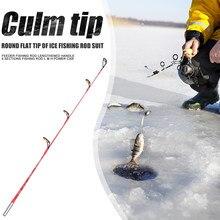 36cm 56cm hastes de pesca ponta redonda lidar com hastes de pesca ao ar livre equipamento acessórios ao ar livre portátil fácil pesca transportando