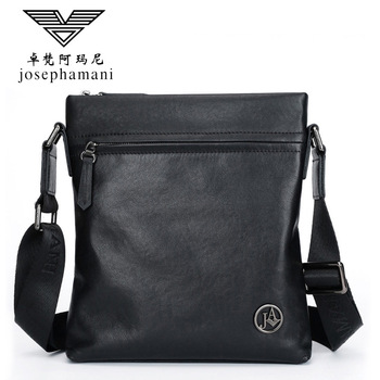 men genuine leather shoulder bag High-end JOSEPHAMANI Brand messenger bag New bolsa feminina free shipping