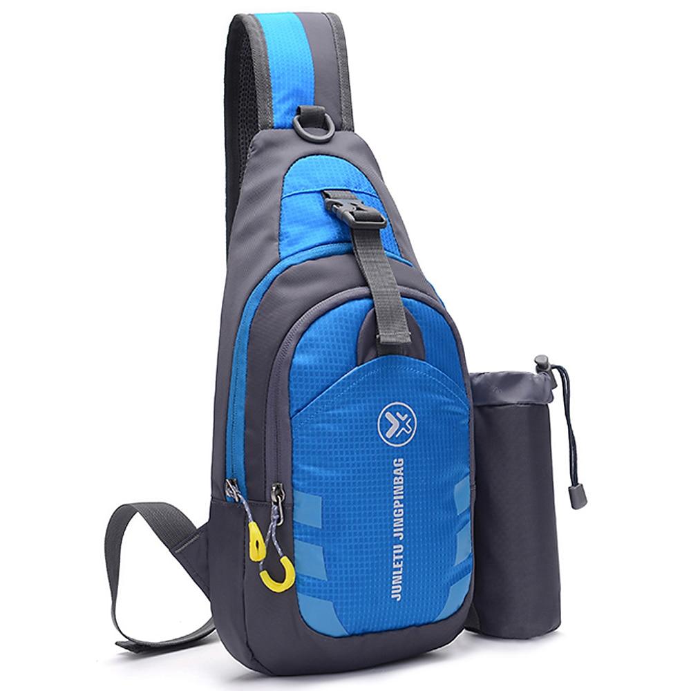 Men Women Sling Backpack Chest Crossbody Bag Shoulder Bags Travel Sports Gym Daypack Water-resistant Hiking Traveling Durability