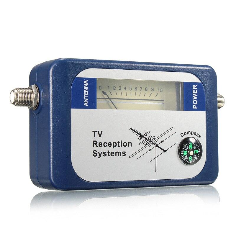 LEORY DVB-T TV Antenna Finder Digital Aerial Terrestrial Signal Strength Meter Pointer TV Satellite Receiver