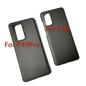 Image 5 - Sợi Carbon Ốp Lưng Điện Thoại Huawei P40pro Huawei P40 Mỏng Và Nhẹ Thuộc Tính Aramid Chất Liệu Sợi Ốp Lưng