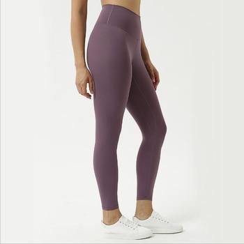 Vnazvnasi GYM Leggings Women Fitness High Waist Yoga Pants Elastic Sportswear Butt Lift Running Workout