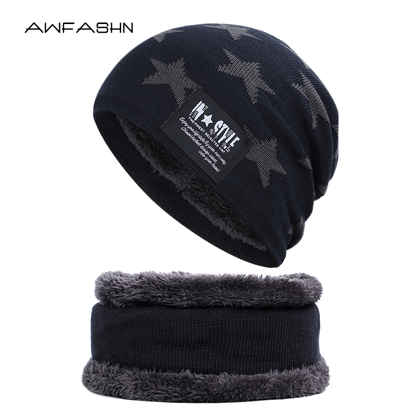 2019 Multi-piece Hat Winter Pentagram Vintage Women's Cap Men's Cap Sport Wholesale Popular Personalized Outdoor Knit Beanie