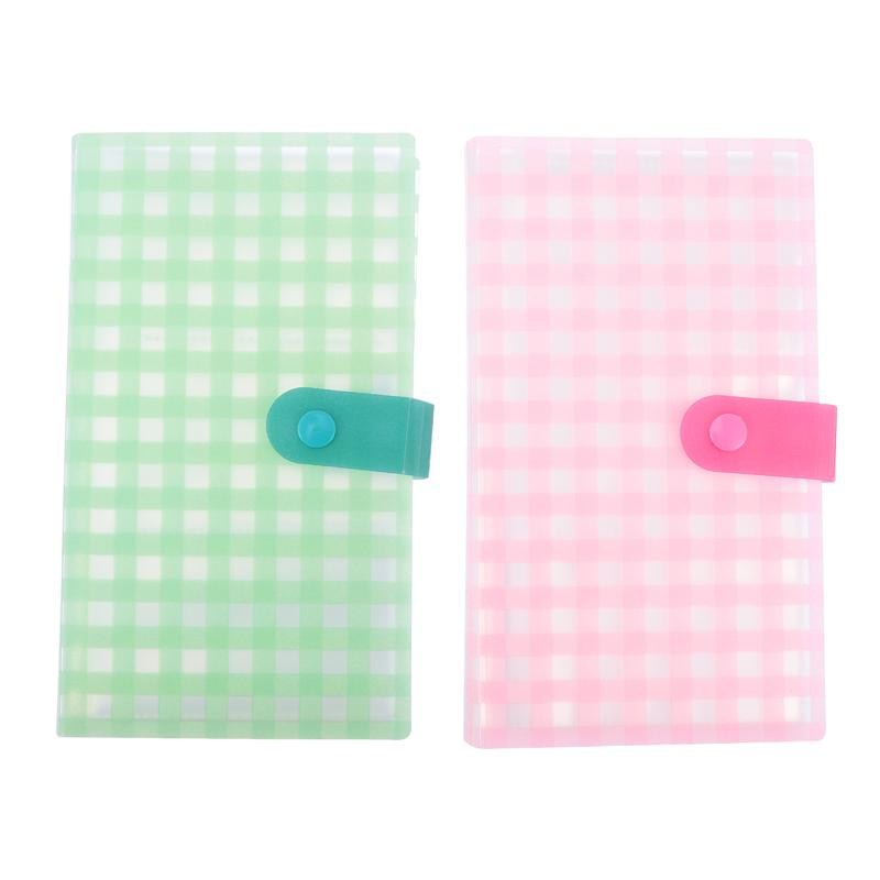 2 Pcs Name Cards Holder Bank Cards Storage Bags Business Cards Holders