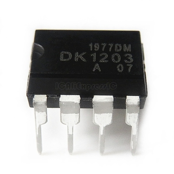 10pcs/lot DK1203 DIP-8 DIP Low power off line switching supply control chip In Stock - discount item  10% OFF Active Components