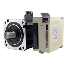 AC servo motor 4.5KW 3phase AC380V 21.5Nm 2000rpm Flange180 180st-M21520 4.5kw servo motor with driver kit for CNC milling(China)