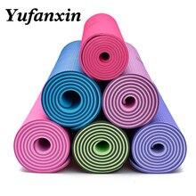 Yoga Mat Gymnastics Sport  Mats Thickened Pilates Weight Fitness Exercise Pad Anti-slip Blanket PVC