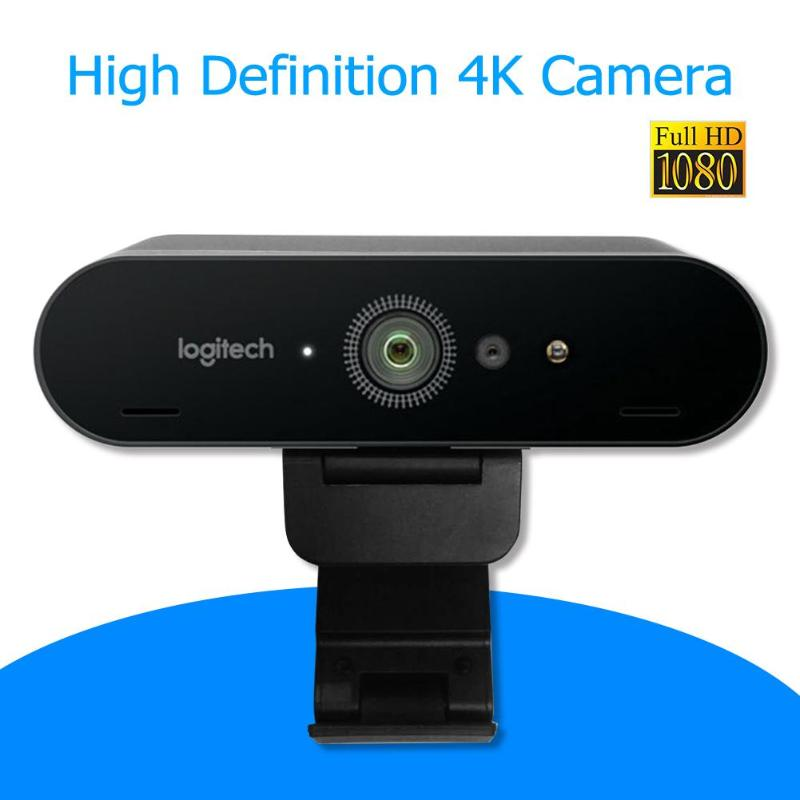 Logitech BRIO C1000e 4K HD Webcam For Video Conference Streaming Recording Compatible With ChromaCam For Windows