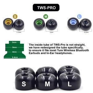 Image 2 - Амбушюры из пены с эффектом памяти для Ture беспроводные наушники Jabra Elite 75t, Elite 65t, Active 65t, Evolve 65t наушники TWS Pro
