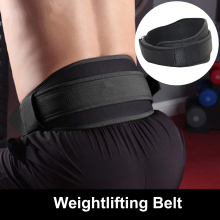 Gym Weightlifting Belt Nylon Musculation Squat Powerlifting Waist Belt Dumbbell Bodybuilding Dead Lifting Gym Accessory