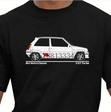 Renault 5 GT Turbo Youngtimer retro vintage camiseta(China)