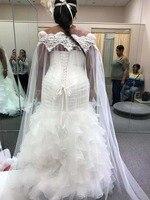 Wedding Cape Veil Off Shoulder Cover Veil New Wedding Cape Lace Wedding Boleros Jackets Long Bridal Shawl Wedding Bolero Jacket