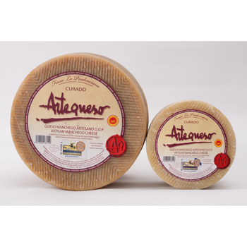 Manchego ser rzemieślnik suszony D O P -Artecheese-piece 3 Kg tanie i dobre opinie MARNAULA Dla osób w średnim wieku Zapakowane w torbę