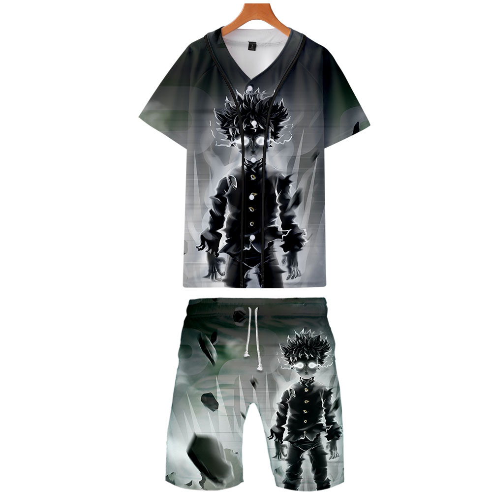 Shorts Jackets 100-Rossbaseball-Jacket-Set Two-Piece-Set Fashion New Cool And Print