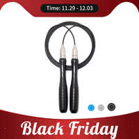 Forcefree+ Fitness Speed Jump Rope Self-Locking Adjustable Metal Skipping Ropes for Crossfit Workout Jumping Training