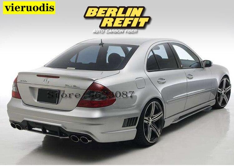 W211 AMG Style Carbon Fiber Rear Spoiler Wing for Mercedes W211 E Class 4-door Sedan 2003 - 2009 E200 E280 E320 E350 E500 E550