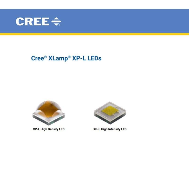Cree XLamp XP-L XPL HD HI 10WWhite 6500K 3000K 4000K High Power LED Emitter With 8mm 10mm 12mm 14mm 16mm PCB Board