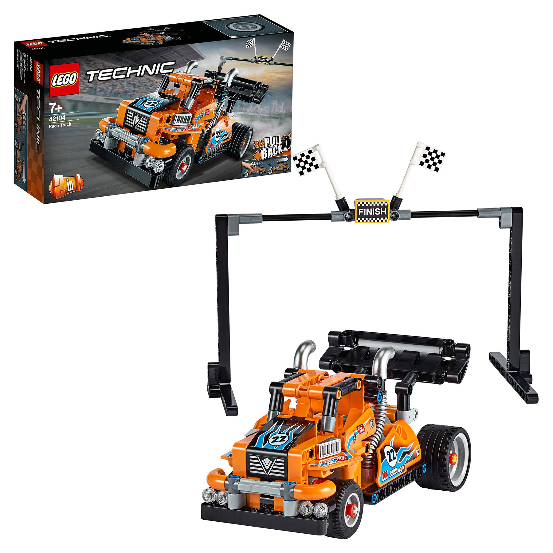 Designer Lego Technic 42104 Racing Truck