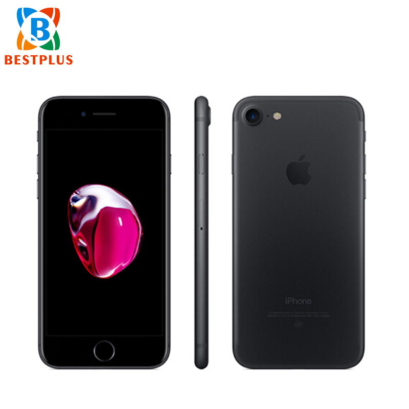 99% New Apple IPhone 7 A1660 Verizon LTE Mobiel Phone 4.7 Inches 2GB RAM 32GB/128GB/256GB ROM Fingerprint NFC Smart Phone