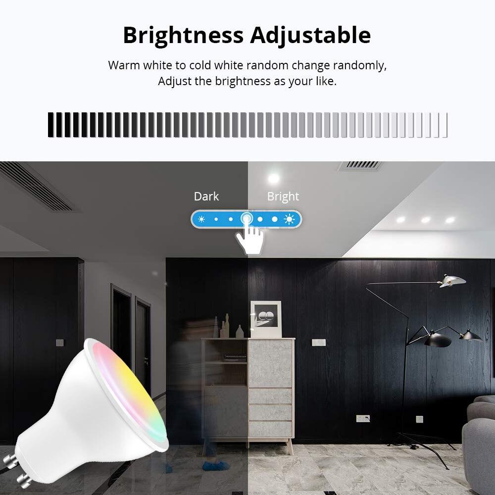 pode ser escurecido lâmpada inteligente trabalho com alexa google ifttt