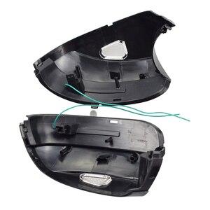 Image 5 - For Volkswagen VW EOS 2011 2015 LED Dynamic Turn Signal Light Side Mirror Blinker Sequential Lamp