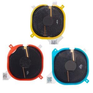 Image 2 - 1 szt. Bezprzewodowy układ ładowania cewki NFC dla iPhone 8G 8 Plus X Panel ładowarki naklejki Flex Cable