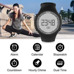 Image 3 - Цифровые спортивные мужские часы для бега на открытом воздухе Водонепроницаемые многофункциональные часы Будильник Секундомер для женщин и мужчин EZON L008