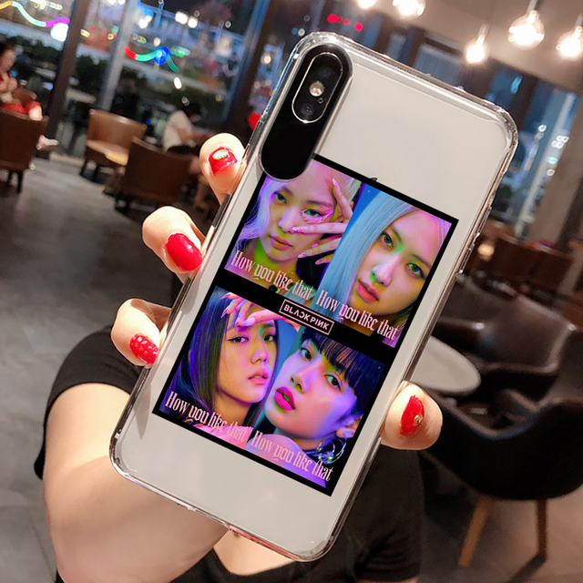BLACKPINK THEMED IPHONE CASE (23 VARIAN)
