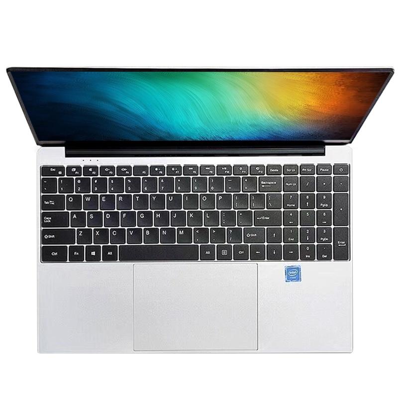15,6 дюймов 8 ГБ ОЗУ 256 ГБ/512 ГБ SSD ноутбук intel core i7 или Intel четырехъядерный ноутбук с FHD дисплеем ультрабук студенческий компьютер