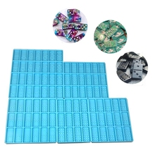 Mould Toy Silicone Craft Resin  Game Mold DIY Dominoes Making Casting Epoxy Tool