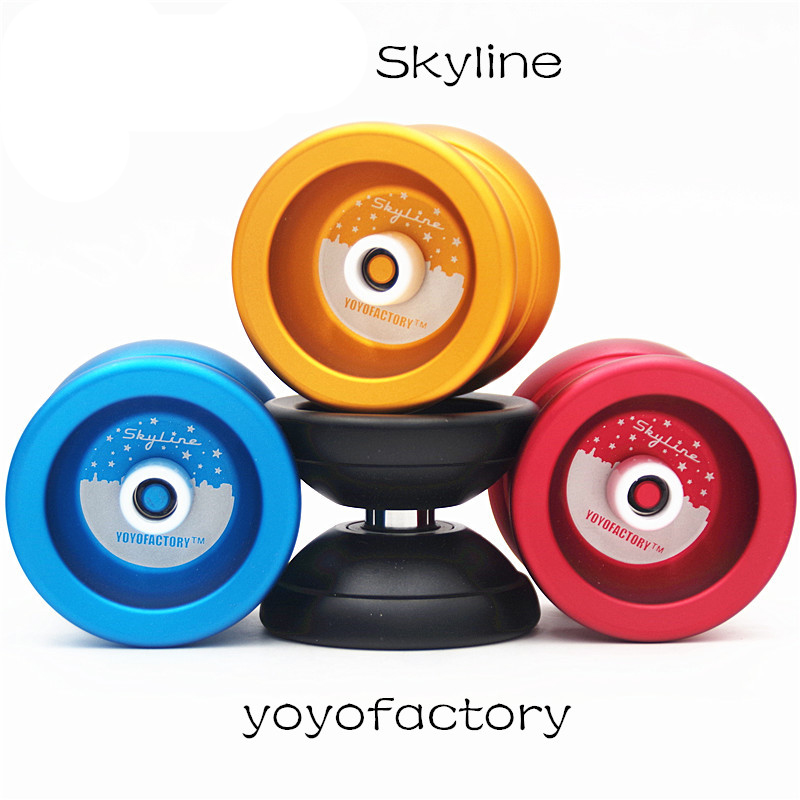 Yoyofactory  Skyline YOYO  For Professional Competitive Yo-Yo 1A Side Shaft YOYO