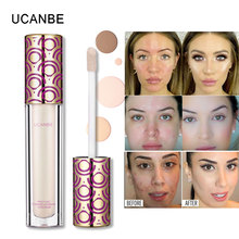UCANBE 4 Colors Liquid Perfect Coverage Concealer Tint Concealing Dark Circle Blemish Contour 3D