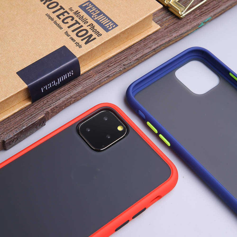 キャンディーカラーの携帯電話ケース Iphone 11 プロマックス 6 6s 7 8 プラス X XS 最大 XR ケースマット Tpu シリコンソフトカバーケース iphone 7 ケース Capa
