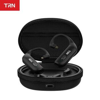 Trn BT20S Pro Bluetooth 5.0 Draadloze Oorhaak Aptx \ Aac Hifi Oortelefoon Kabel 2PIN/Mmcx Connector Met Opladen case Voor Trn Vx V90