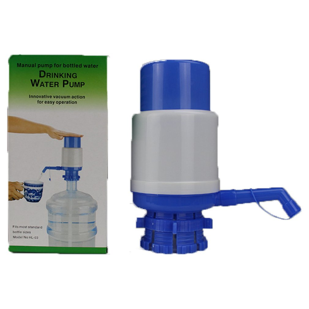 Medium Bottled Water Hand-pressed Water Dispenser Pure Water Manual Water Press Water Pump Portable Useful image