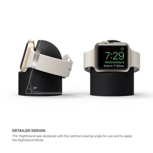 Image 2 - Charger Stand Mount Silicone Dock Holder for Apple Watch Series 4/3/2/1 44mm/42mm/40mm/38mm Charge Cable