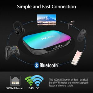 Image 4 - LEMFO 9.0 Android TV Box 4GB RAM 64GB 32GB 8K 2.4G5G WiFi Support IPTV Google Youtube Media Player S905X3 Set Top Box