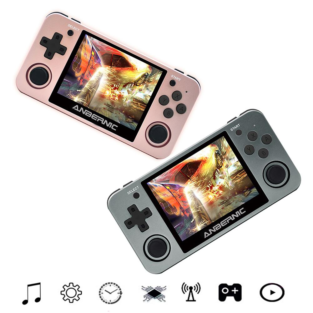 RG350m Retro Game Console 10000 Games Retro Handheld Joystick Gaming 3.5 Inch Console Players Gifts for Children
